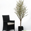 White Cherry Tree Artificial with Natural Trunk 40