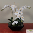 Artificial Orchid in planter
