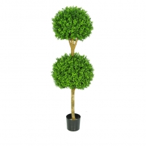 External Topiary New Buxus Double Ball Tree 150cm ASCBOX2_5 (1)
