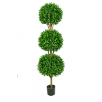 External Topiary New Buxus Triple Ball 120cm or 150cm ASCBOX_3_4 (1)