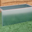 External Planters Galvanised Steel Trough 6