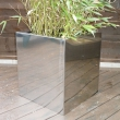 External Planters Metal Cube 9
