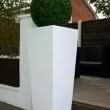 External Planters White Limestone 15