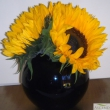 Table top Sunflower vase