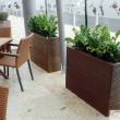 Screening Planters Trough Tall 22