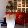 Tall Tapered Planter with Led Lights 5
