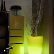 Tall Planters with Lights 6