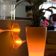 Tall Vase Planter with Led Lights 7