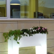Illuminated High Trough Planter 9