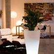 Tapered Illuminated Planter 12