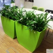 Synthetic Planter Green Curvy 4